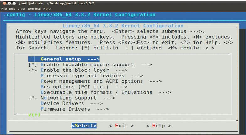 Build Custom Kernel in UBUNTU (With disabled USB and Bluetooth